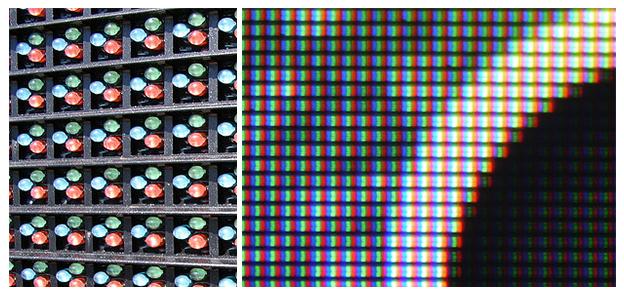 colour pixels, zero due design